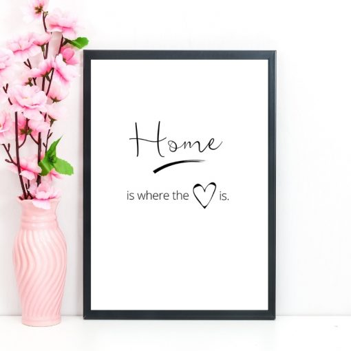 Home is where the heart is gift