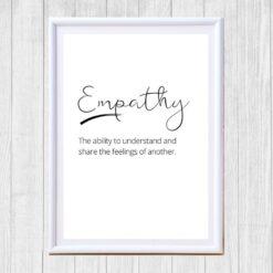 Empathy print