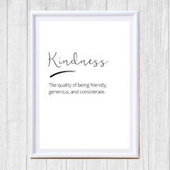 Kindness poster