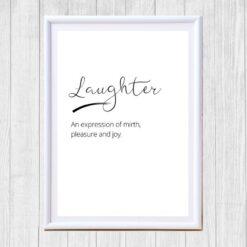 Laughter print
