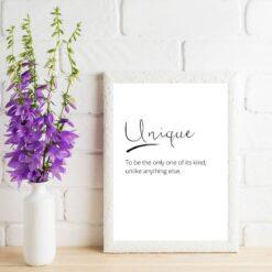 Unique print