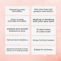 Funny book mark reading quotes