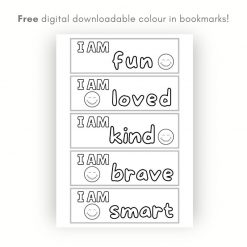 Free childrens bookmarks