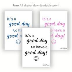 Free Children's Wall Print