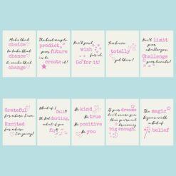 Positivity Postcard Set