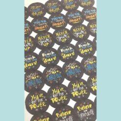 Kids reward stickers