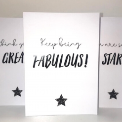 Encouraging greeting cards