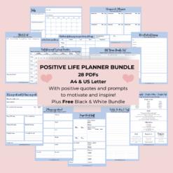 Printable life planners