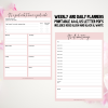 Printable weekly daily planner